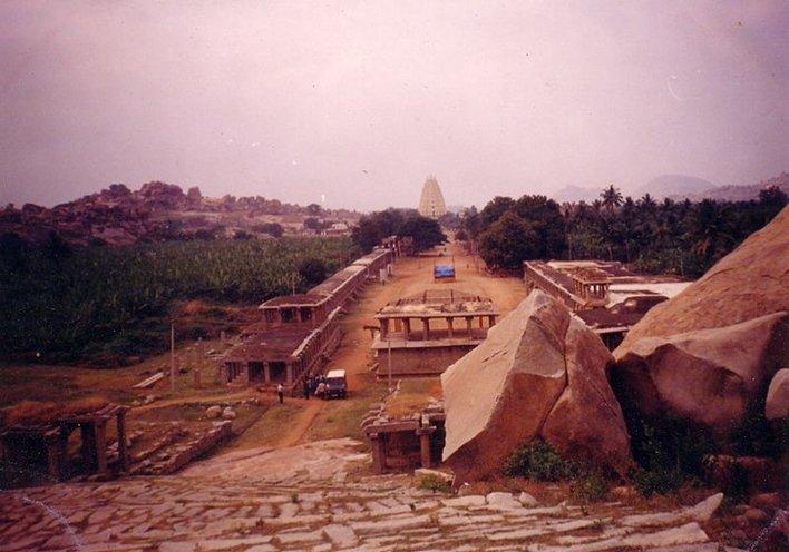 Hampi Bazar, Facts about Hampi