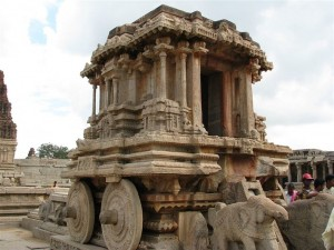 Stone Chariot, Vittala Temple, Hampi, facts about Hampi