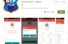 Filing police complaint FIR online in Bangalore